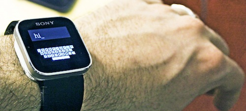 Smart Watch - Teeny Tiny Keyboard